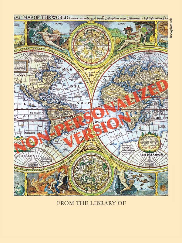 B116-Map-of-the-World-bookplate
