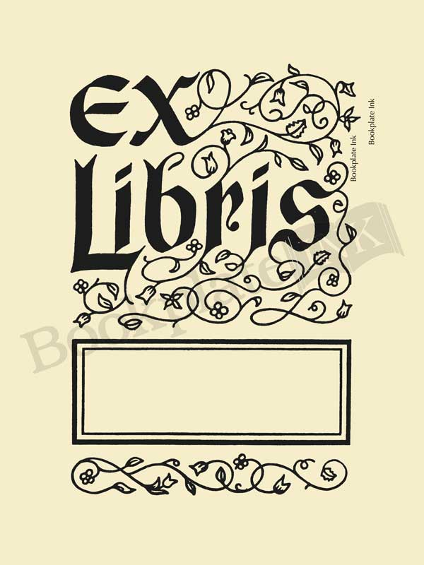 Bookplate Ink