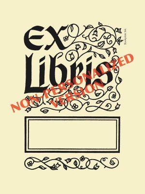 B210-ex-libris-design-nonpersonalized