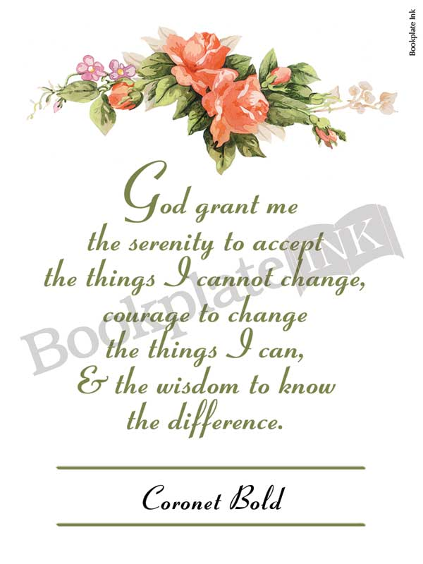 C108-Serenity-prayer-with-flowers-bookplate