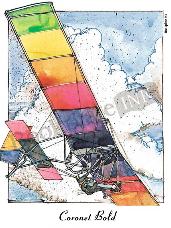 C112-glider-aviation-bookplate