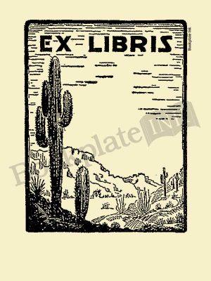 D300-Desert-cactus-ex-libris