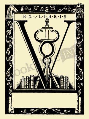F697-veterinary-bookplate