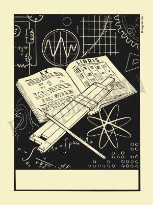 M614-Mathematical-slide-rule-bookplate