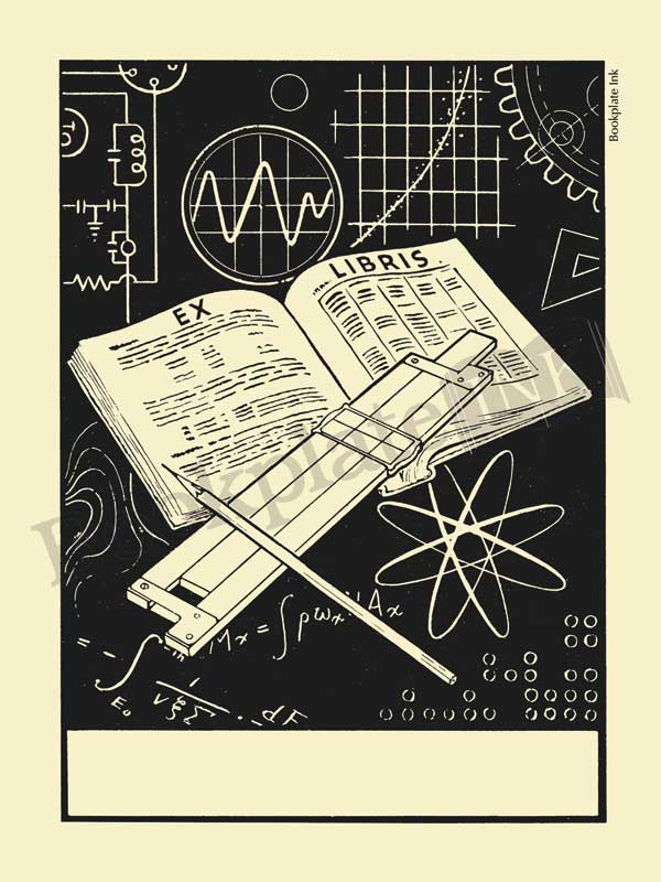 M614-Mathematical-slide-rule-bookplate