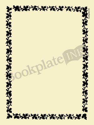 M757-ivy-border-bookplates