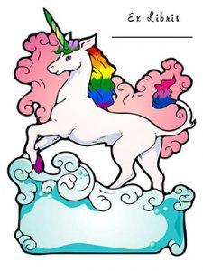 unicorn ex libris