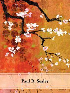Cherry blossom ex libris